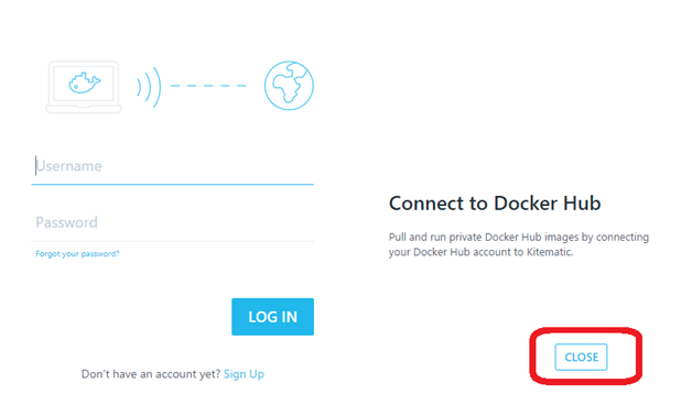 Connect To Docker Hub