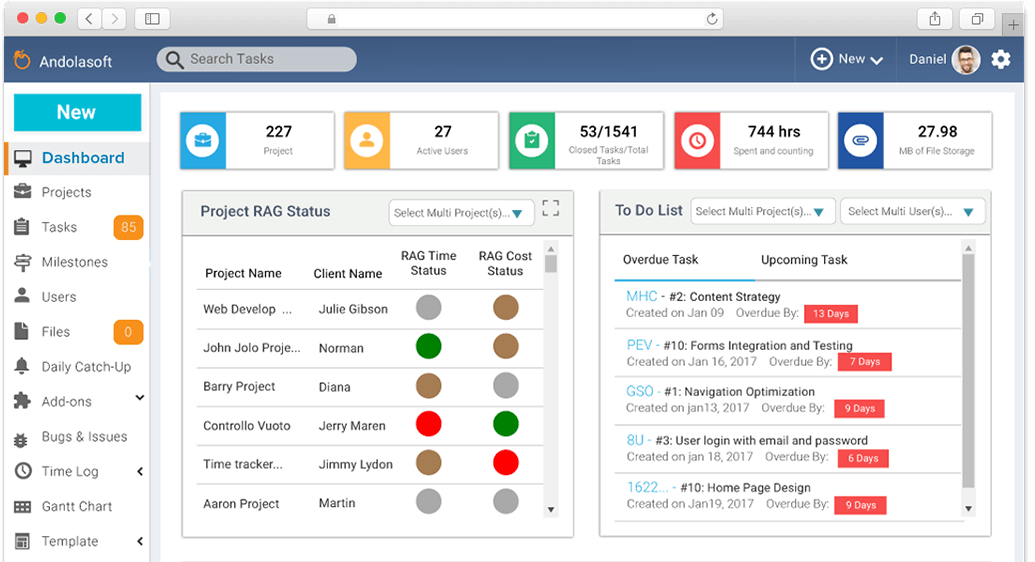 enterprise open source project management tool task management