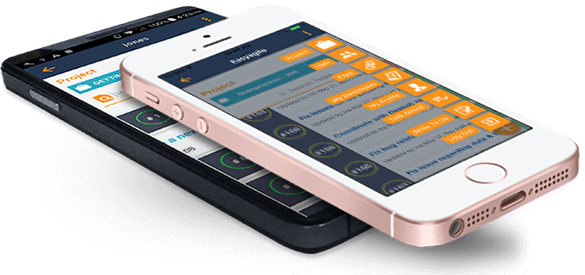 OrangeScrum Project Management Tool Mobile App