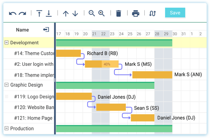 Organize clients and Project