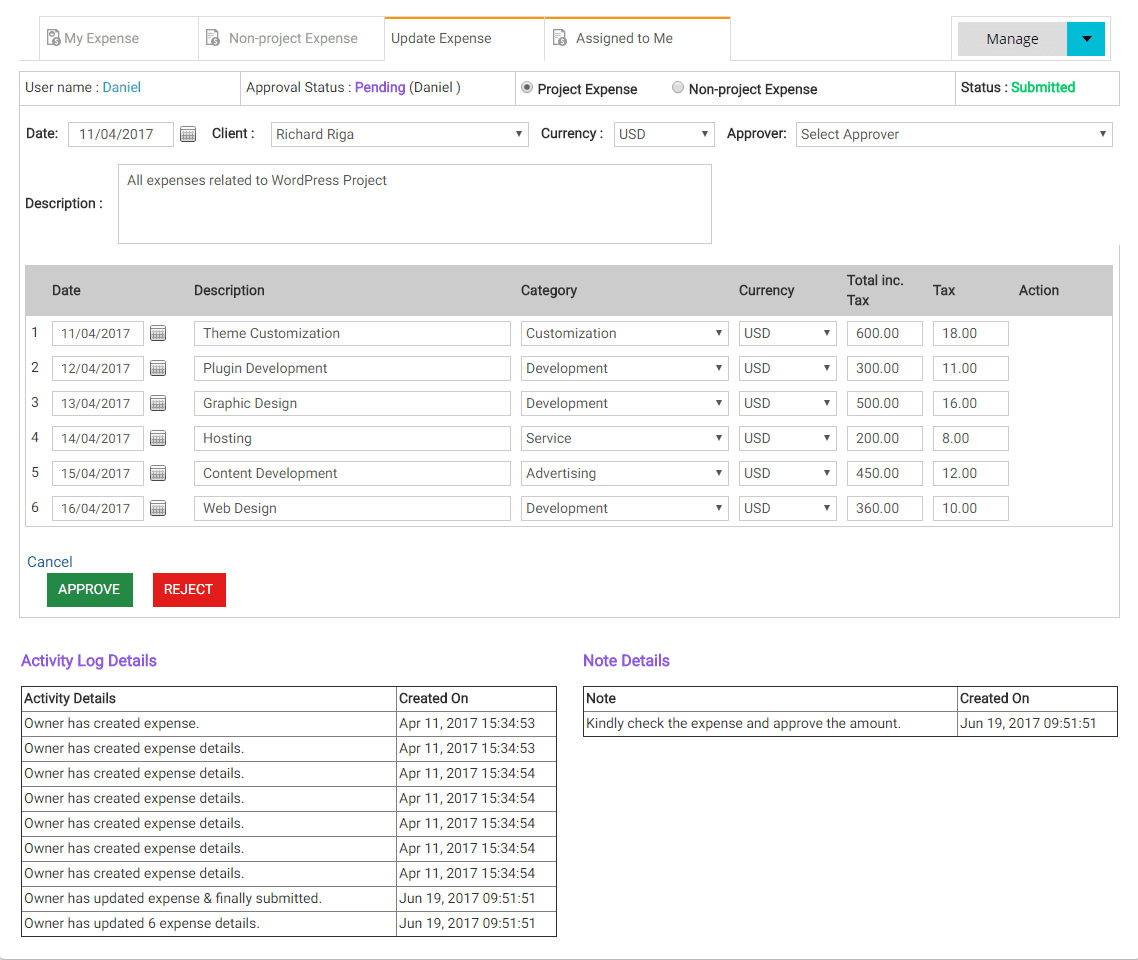 Tracking Expenses with Expense Management