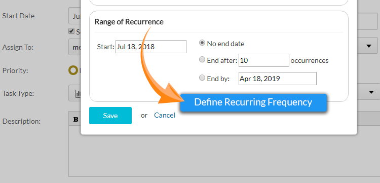 Recurring Task Add-on Orangescrum | Say No to Repetitive work